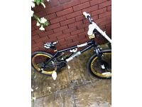 Black and gold VooDoo Malice BMX