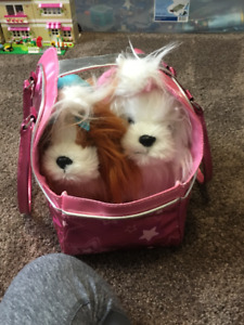 Play Puppies in a Carry Bag - $5.00