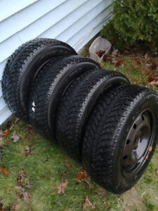 Winter Tires plus Rims (Civic), but good for many cars