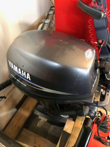 2011 Yamaha 8hp 4 stroke short shaft