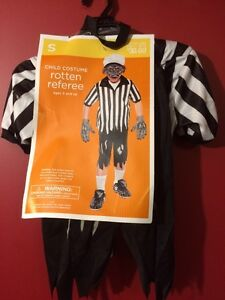 Kid's Rotten Referee Costume - Size Small (4-6) - Brand new!