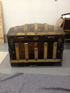 Antique Treasure Trunk / Chest  - Very old and original