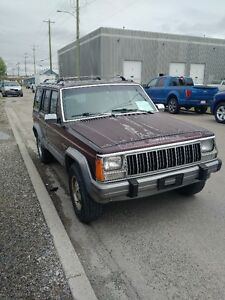 1991 Jeep Cherokee, driven daily
