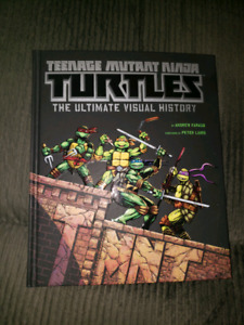 Awesome ninja turtles book.