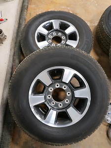 Stock ford rims and michelin LTD A/T 275/70R18