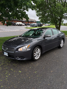 Nissan Maxima SV with sport and premium packages