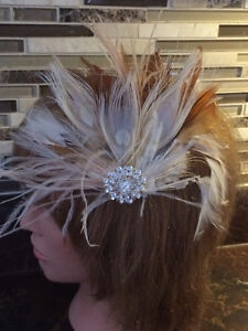 Bridal headpieces, Fascinators, hair clips, Feather headbands West Island Greater Montréal image 2