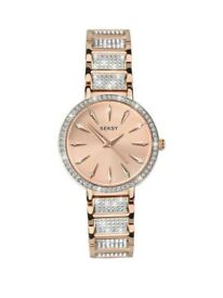 Seksy Rose Gold Watch Brand New