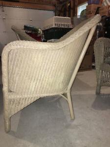 Three Wicker Chairs