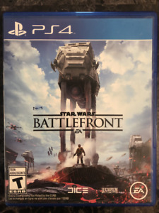 PS4 GAME-STAR WARS BATTLEFRONT