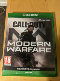 Call Of Duty Modern Warfare Xbox One Game