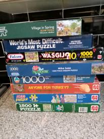 Jigsaw puzzles bundle off x 8
