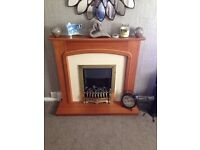Wooden fire surround only needs gone asap