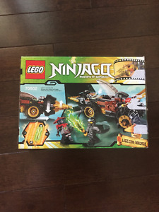 LEGO NINJAGO COLE'S EARTH DRILLER COMPLETE KIT