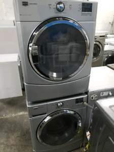 MAYTAG MIDSIZE STACKABLE LAUNDRY PAIR