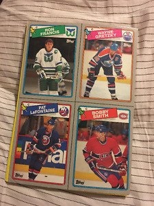 1987 OPC Box Bottoms and Gretzky Statue Program!