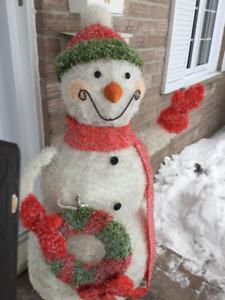 Bonhomme de neige pour Noël