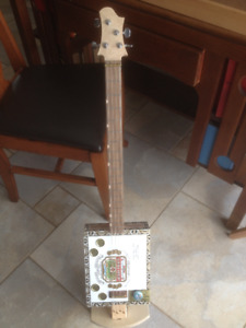 Cigar Box Guitars -ELECTRIC