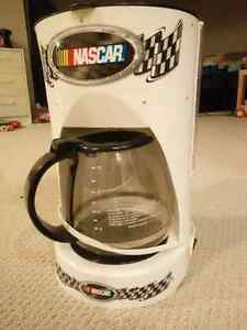 NASCAR themed 12 cup coffee maker