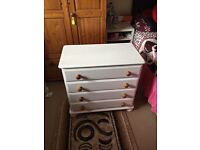 Chest of drawers good condition £70 free delivery of local