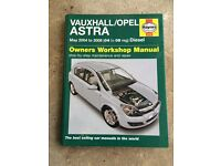 Astra 2004 - 2008 manual