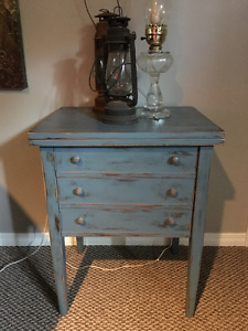 Rustic Sewing Table