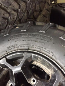 Factory Can Am Wheels and Tires