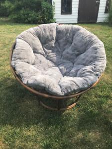 Chaise papasan