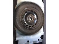 Spare wheel for Ford KA