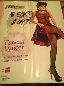 Cancan Dancer Halloween costume