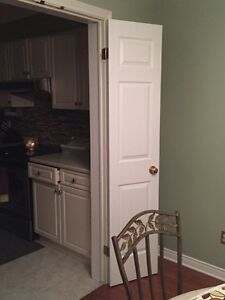 Set of Solid White French Doors London Ontario image 1