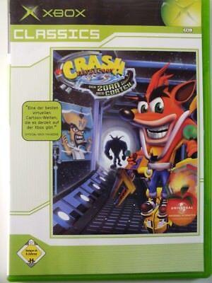 !!! XBOX CLASSIC SPIEL Crash Bandicoot Zorn des Cortex, gebraucht aber GUT !!!, gebraucht gebraucht kaufen  Großefehn