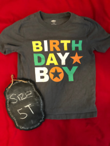 Birthday Boy T Shirt