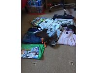 Bundle of boys clothes 7-8