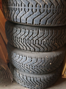 Winter Tires on rims 21565R16