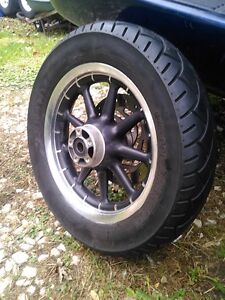 HARLEY DAVIDSON ROAD KING ULTRA WHEELS WITH TIRES AND ROTORS Windsor Region Ontario image 8