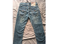 True religion jeans W34