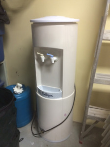 Water cooler c/w heated feature