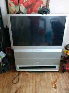 50 inch rear projection