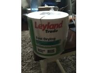 Leyland Trade - Fast Drying Water Based Satin - Brilliant White