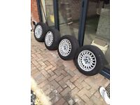 Bmw Bottletop alloy wheels in excelled condition