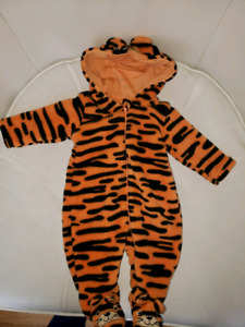 Newborn fleece onesie
