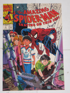 Marvel Comics Spider-Man:SkatingThin Ice#1 McFarlane! comic book