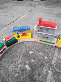 PRICES reduced for quick sale Cute little toy train & track for sale.