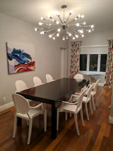 High Quality Modern Dining Room Chairs/chaises moderne