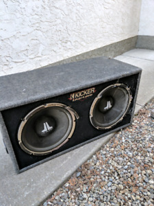 Jl audio subs and vox.and amp