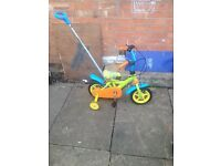 Children's first bike