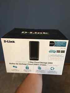 D-Link DNS-320L 2-disk NAS with 1.5 Tb storage