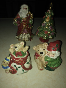 CHRISTMAS SALT and PEPPER SETS AND MORE
