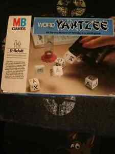 Word Yahtzee Game